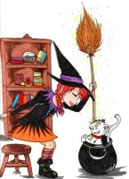 Cutie Witch by Imagin-Aries