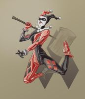 Harley Quinn With hammer by Spacesam
