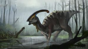 Parasaurolophus walkeri by highdarktemplar