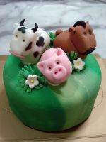Farmville Mini cake by Sliceofcake