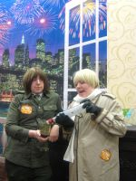 AkiCon2012: Sharing The Vodka by Julian-Blue