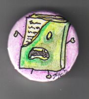 NaNoWriMo 2009 Zombie Button by jagris