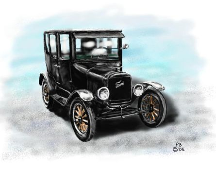 1915 Ford Model T by Belote-Art