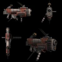 R+S - Heavy Plasma Gun by NeonDuck