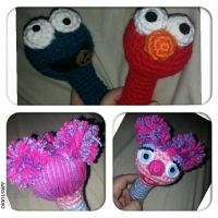 Set of Baby Rattles for my niece by jelc85