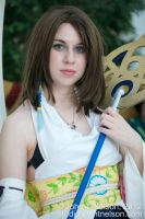 Cosplay: Summoner Yuna by JacquelineChroma