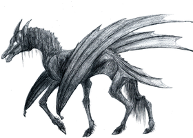 Thestral by mittenstheninjakitty