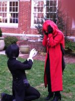 Sebastian Proposes to Grell 2 by SailorDerp