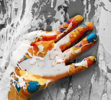Finger Painting by Fruits-and-Spears