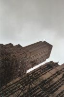 New York Sky Lines by Nornin