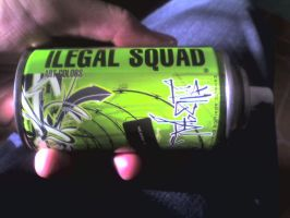 Ilegal Squad pocket can by MFBlank
