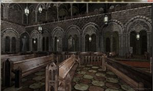 Cathedral Pews by David-the-Cenobite