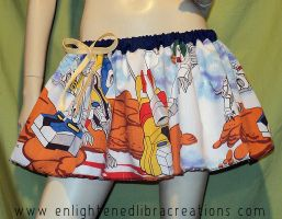 Voltron Defender of the Universe Skirt by RedheadThePirate
