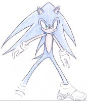 Sonic Sketch by Shadowstorm17