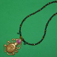 Scarab necklace by ladytech