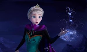 Let It Go Painting by reikohattori