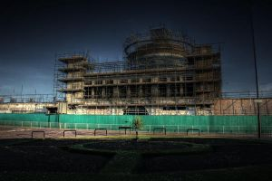 HDR Construction Site by N1ghtf4ll3r