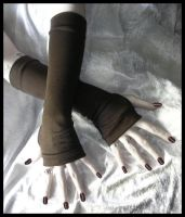 Gaia's Guardian Arm Warmers by ZenAndCoffee