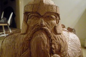 Gimli, son of Gloin, Lord of the Rings, detail by Fiscutean