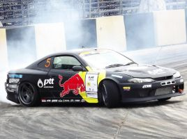 Redbull Drift Team Thailand Nissan Silvia S15 no.5 by sudro