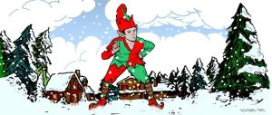 Christmas Elf by KevinGoss