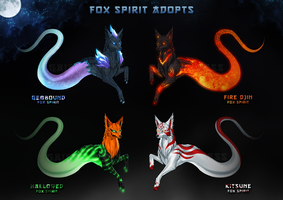 FOX SPIRIT ADOPTS [CLOSED 4/4 Sold] by GaiaWolfess