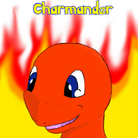 cute Charmander face by sneakboy1