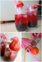 Strawberry Bubble Tea - Vegan by ponychops