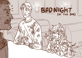 Bad Night by cloverinblue