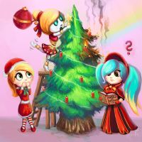 LoL - Snowdown Decorating by cubehero