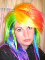 Rainbow Dash Wig by AnimeGeer