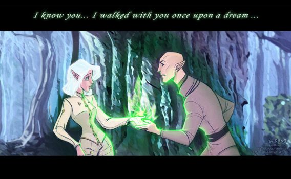 Once upon a Dream - Solas by DanjiDoodle