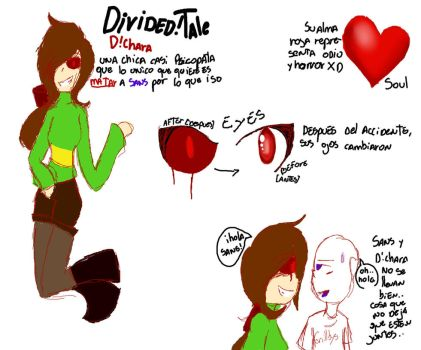 [DividedTale] D!Chara by CriztalWhiteTheBunny