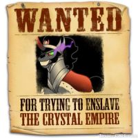 Equestria's Most Wanted King Sombra by snakeman1992