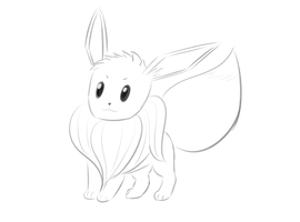 Eevee by Zhooves