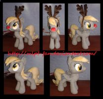 15 inches DERPY HOOVES the reindeer by MLPT-fan