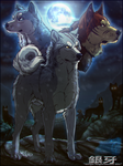 ''Becoming a legend'' (Ginga  Gin fan art) by NinjaKato