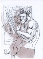 Logan inked and toned by scarecrowhassan
