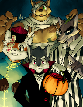 Halloween2016 by chirenbo