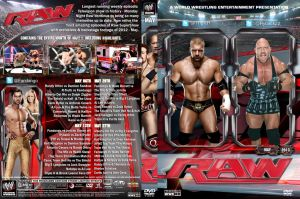 WWE Raw May 2013 DVD Cover by Chirantha