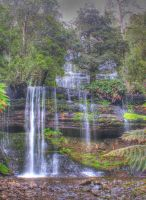 Russell Falls by munchinees