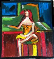 Seated Woman by center555