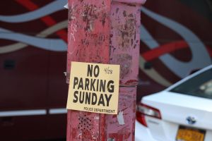 No Parking Sunday by TheBuggynater