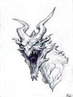 Alduin the World Eater by The-Oberst