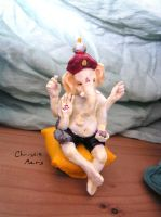 Little Ganesh by OonaghAncaireBattle