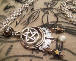 Witching Hour-Necklace by Destinyfall