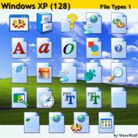 Windows XP 128 - File Types 1 by werewolfdev