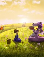 Picnic on the Hill by MiketheMike