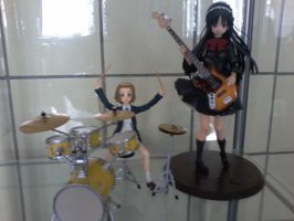 K-on Ritsu and Mio Figures by ShaianWillems