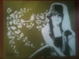 Foreign Exchange Portrait by Stencils-by-Chase